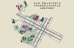 Overview of San Francisco Int''l Airport.