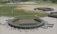 Kansas City Intl Airport Scenery.