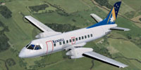 Screenshot of Kendell Airlines SAAB 340B in flight.