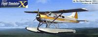 Splash Screen showing Kenmore Air De Havilland Beaver DHC-2 in flight.