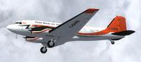 Screenshot of Kenn Borek Air Basler BT-67 C-GVKB in flight.