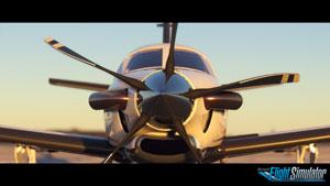 Aircraft demonstration.