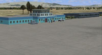 Screenshot of Kunduz Airport scenery.