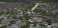 Screenshot of Kunkuru Game Lodge Airstrip.