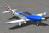 Screenshot of Lancair Legacy on the ground.