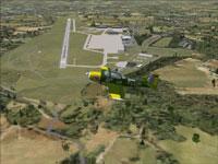 Aerial view of Landsberg Air Base.