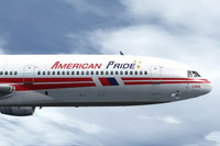 Screenshot of Langoliers Lockheed L-1011 TriStar in the air.