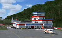 Screenshot of Lanyu Airport scenery.