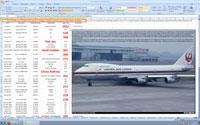 Screenshot of Largest_Crash open in Excel.
