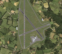 Overview of Lasham Airfield.