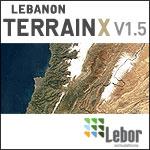 Lebanon TerrainX poster.