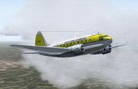 Screenshot of Lloyd Aereo Colombiano Curtiss C-46 in flight.