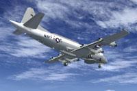 Screenshot of Lockheed EP-3E Aries II in flight.
