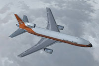 Screenshot of Lockheed L-1011 TriStar Prototype in flight.