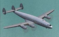 Blank Lockheed L749 Constellation textures.