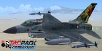 Screenshot of Lockheed Martin F-16 ViperDen in flight.