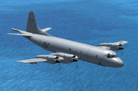 Screenshot of Lockheed P-3C Orion in flight.