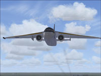 Screenshot of Lockheed S-3B Viking in flight.