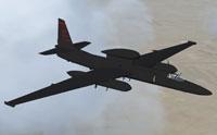Screenshot of Lockheed U2S in flight.