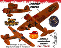 Cover image for the Lockheed Vega 5B Halloween theme.