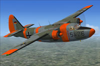 Screenshot of Luftwaffe Hunting Pembroke C54 5426 in flight.