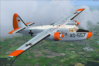 Screenshot of Luftwaffe Hunting Pembroke C54 in flight.