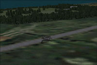 Screenshot of American Cemetery Normandy scenery.