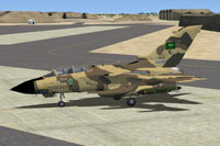 Screenshot of MAIW Royal Saudi AF Tornado on the ground.