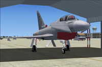 Screenshot of MAIW Spanish AF Eurofighter on the ground.