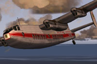 Screenshot of MEA Middle East Airlines Avro 685 in the air.