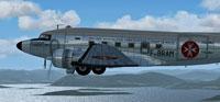 Screenshot of Malta Douglas C-47 in flight.