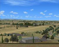View of Mandeville Aerodrome scenery.