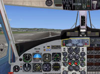 Screenshot of De Havilland DHC-6 panel.