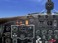 Screenshot of NATS Douglas R4D-6 panel.