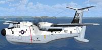 Screenshot of Martin SP5B Marlin in flight.