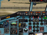 Screenshot of McDonnell Douglas MD-80-87 panel.