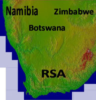Overview of Southern Africa mesh.