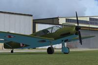 Screenshot of Messerschmitt Bf108 Taifun SP-AIO.