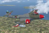 Screenshot of Meteor F8 RNLAF in flight.
