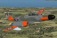 Screenshot of Meteor NF14 WS774 in flight.