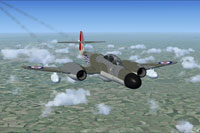 Screenshot of Meteor NF14 WS790 in flight.