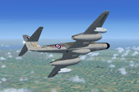 Screenshot of Meteor NF14 WS830 in flight.