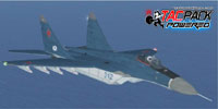 Screenshot of MiG-29 Fulcrum CAP TP in flight.
