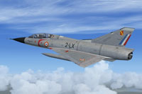 Screenshot of Mirage IIIB - EC 3/2 'Alsace' in flight.