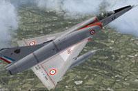 Screenshot of Mirage VF in flight.