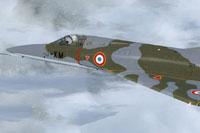 Screenshot of Mirage VF Ardennes in flight.