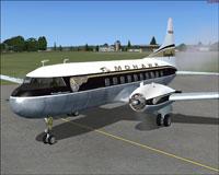 Screenshot of Mohawk Airlines Convair CV240 (front left).
