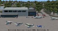Screenshot of Morristown Municipal Airport.