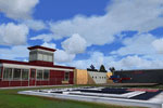 Screenshot of Aerodrome Drachten scenery.