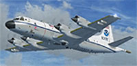 Screenshot of NOAA Lockheed WP3 Orion in flight.